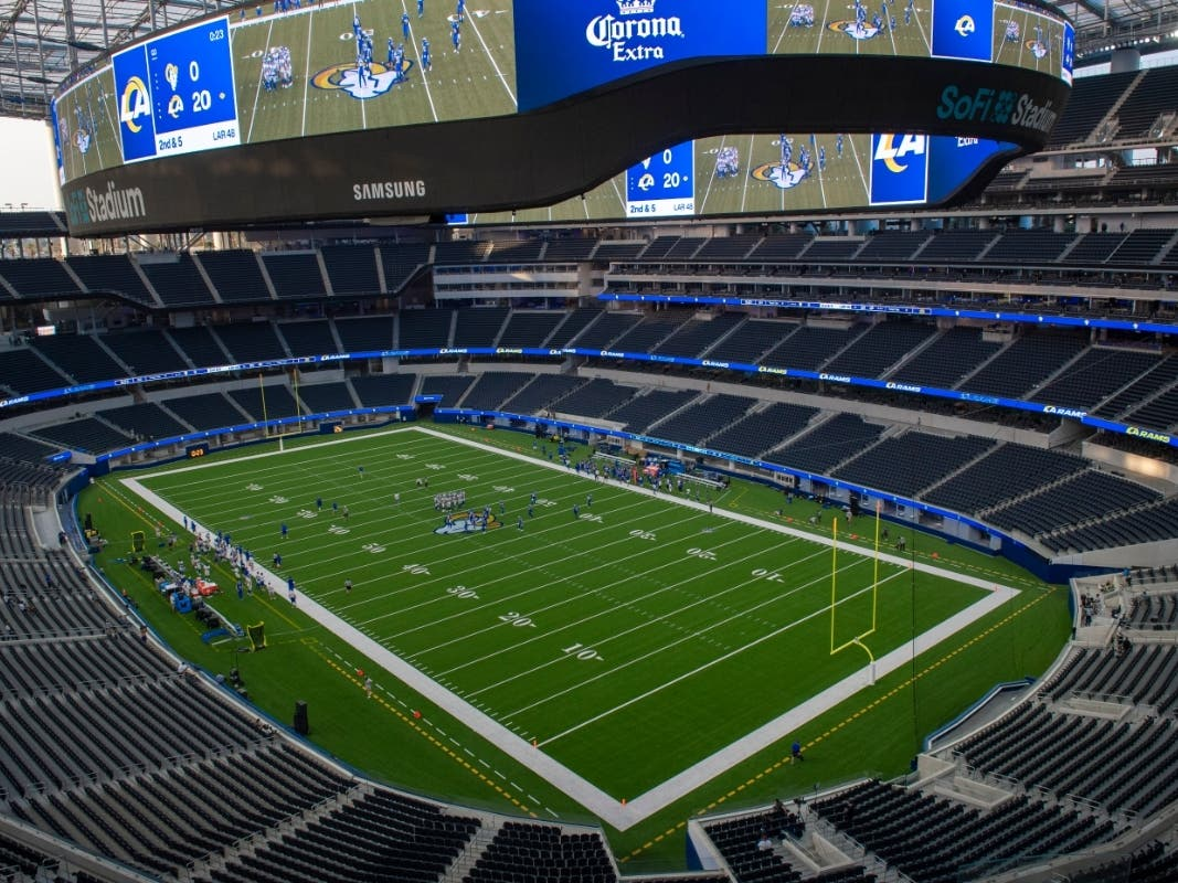 la rams 2020 season opens fri sept 13 to empty sofi stadium los angeles ca patch la rams 2020 season opens fri sept 13