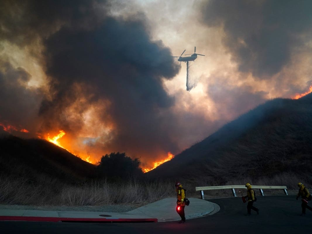 Blue Ridge Fire: 14,334 Acres, 23% Contained, Evacuations Lifted