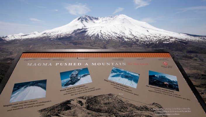 A Look Back 39 Years After Mount St  Helens Eruption: Photos