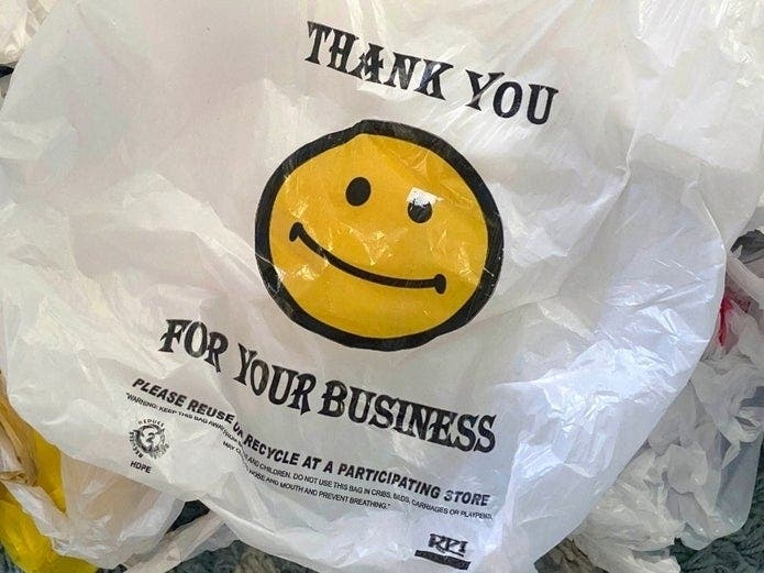 Plastic Bag Ban Enforcement Starts Monday In NYC | Patch PM