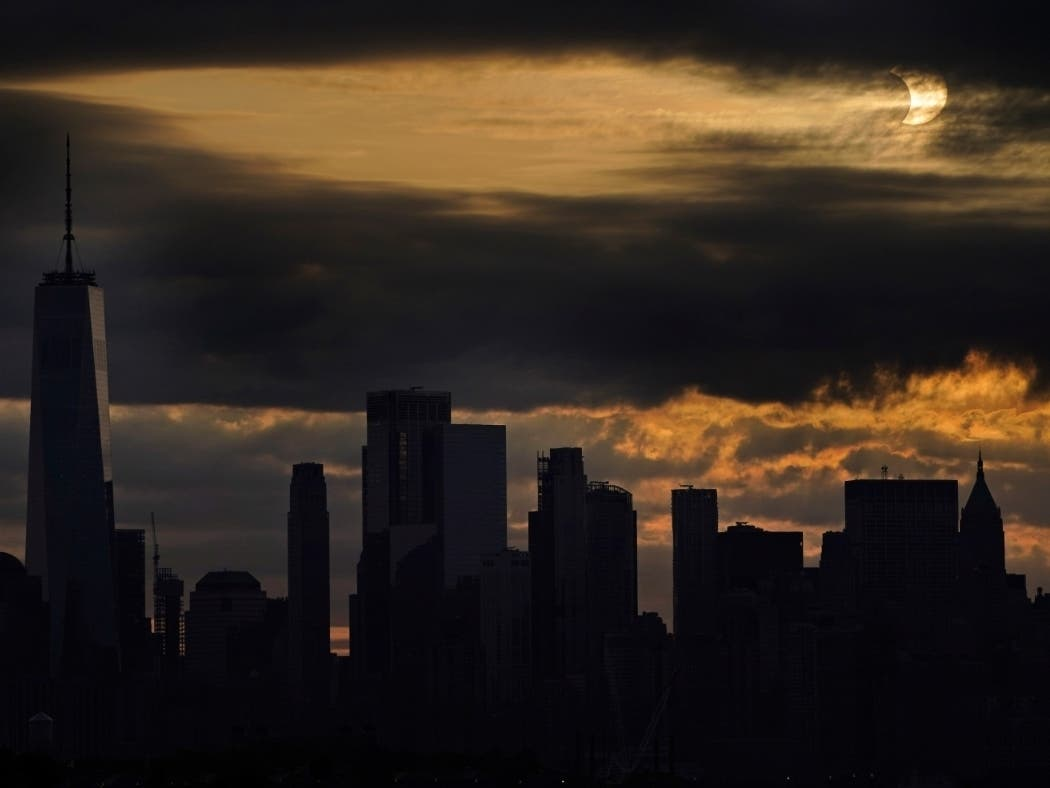 'Ring Of Fire' Eclipse Rises Over NYC: PHOTOS