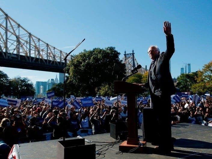 Bernie Rally Blindsides Queensbridge Residents | Patch PM