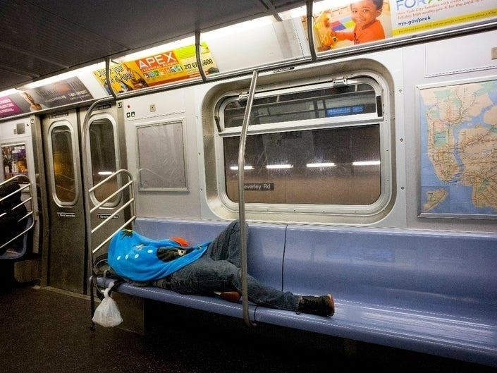 NYPD Whistleblowers Say Subway Homeless Program Punishes Poverty