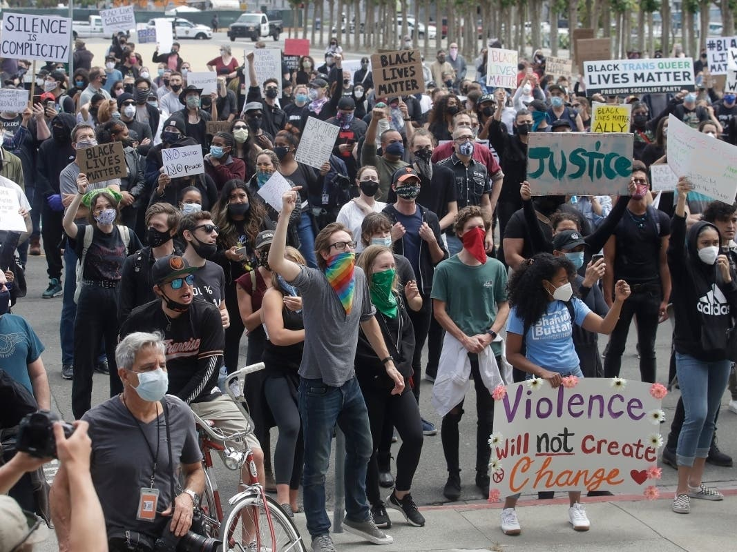 San Francisco Under Curfew Following Protests, Overnight Violence