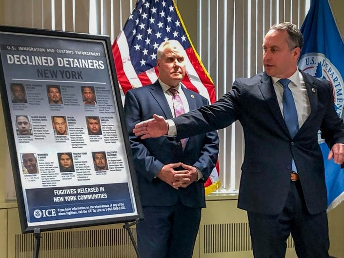 ICE Leader Blames Sanctuary Policies For NYC Killing