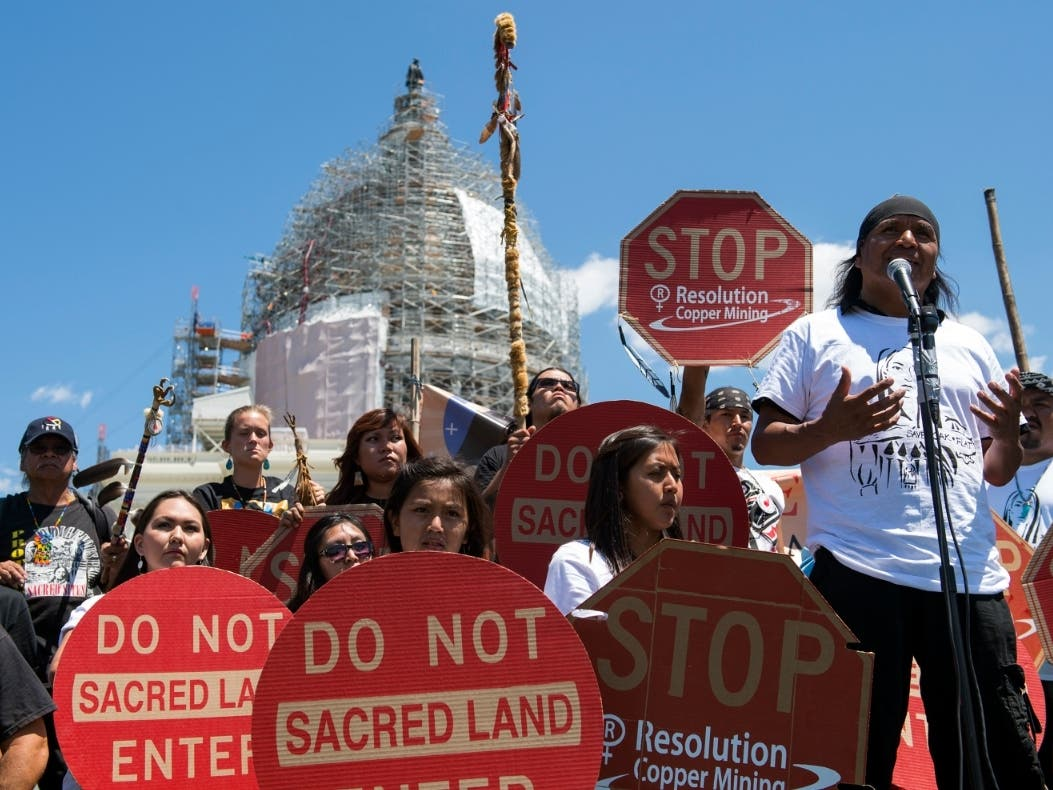 Apaches Object To Forest Service Review Of Arizona Copper Mine