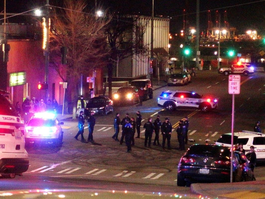 Tacoma Police SUV Plows Through Crowd, At Least 1 Injured