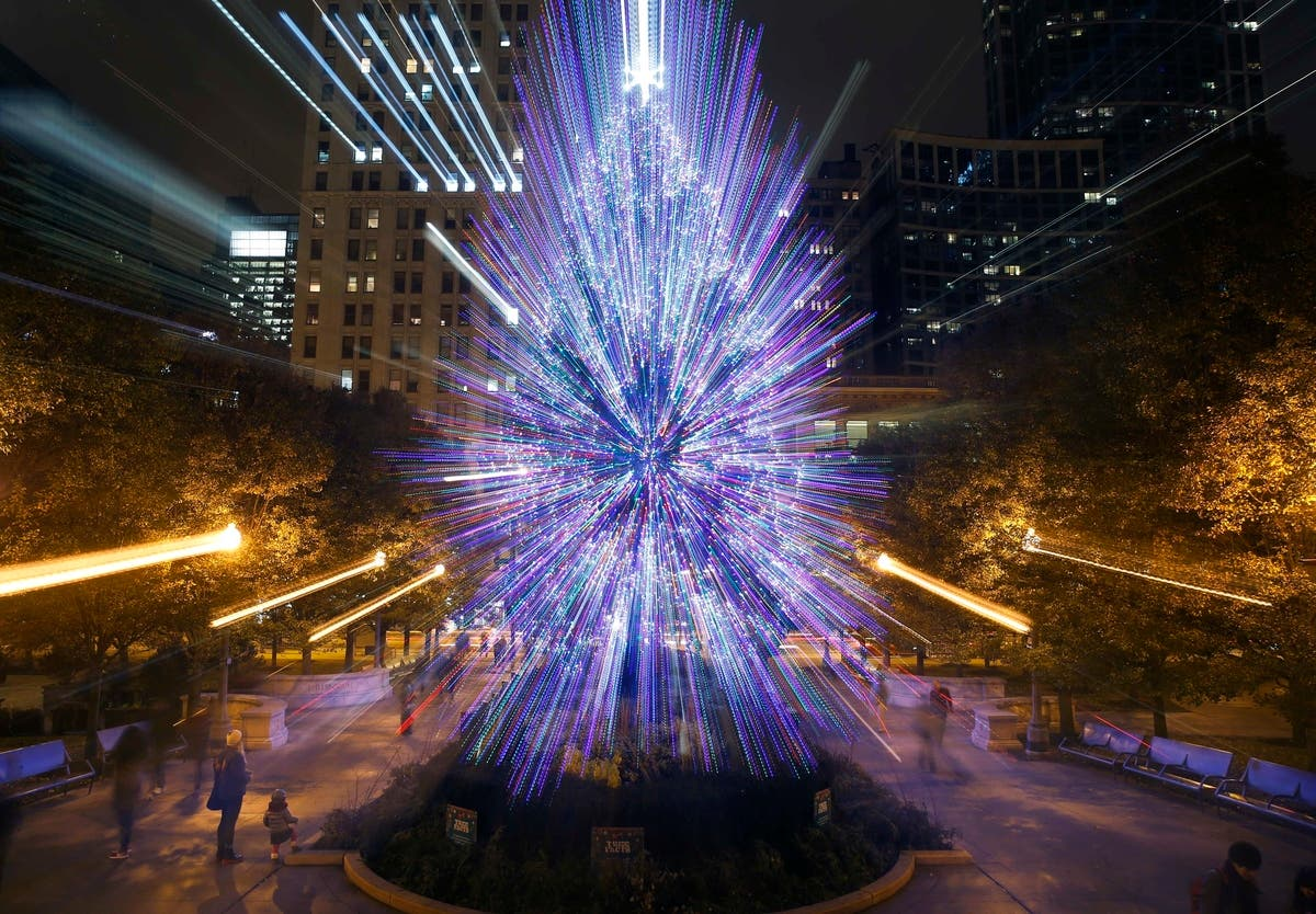 Chicago Christmas.Chicago Seeks Nominations For Millennium Park Christmas Tree