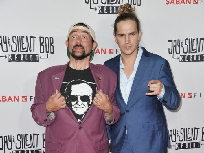 Jay & Silent Bob Sink Leave Their Mark At TCL Chinese Theatre