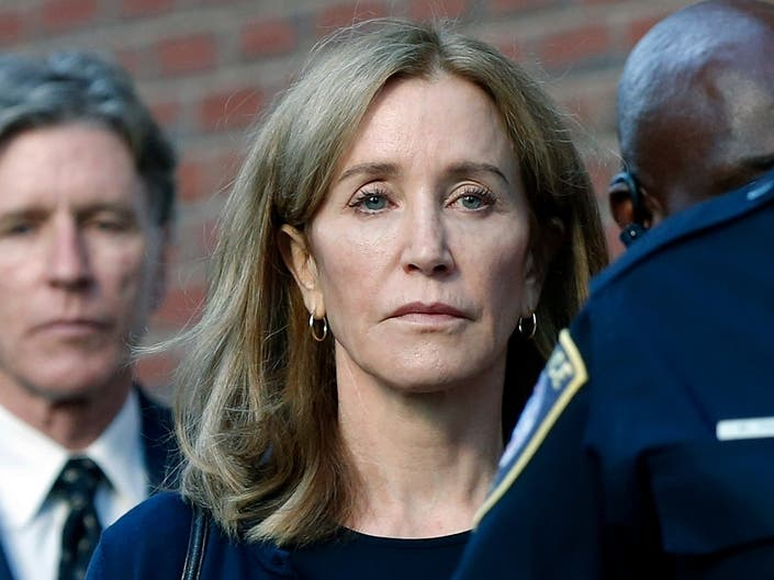 Felicity Huffman Takes On Role Of Federal Inmate