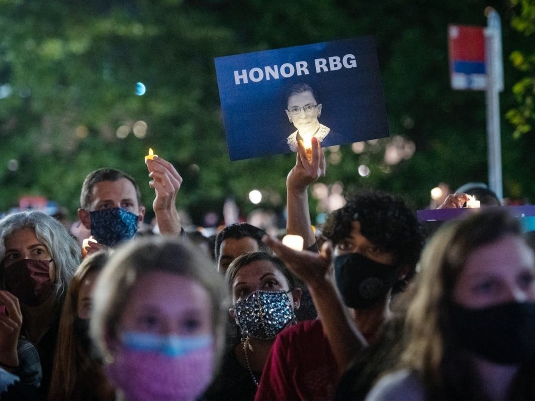 Herndon RGB Vigil: Candlelight Ceremony To Honor Ginsburg's Life