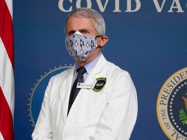 A new, homegrown coronavirus variant in New York City is being closely tracked by health officials, Dr. Anthony Fauci said in a briefing.