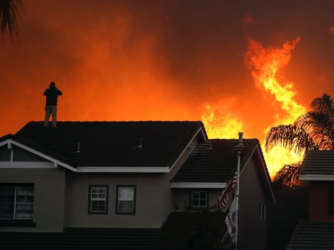 CA Fires: OC Blazes Grow; Weather Returns To 'Normal'