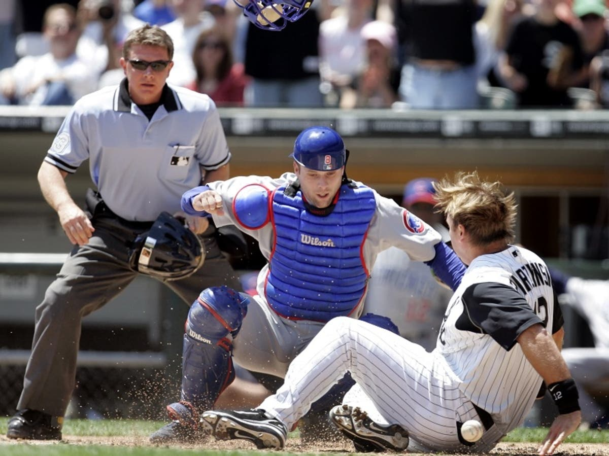 Terrific Cubs Vs White Sox 2006 Crosstown Classic Became Base Brawl Onthecornerstone Fun Painted Chair Ideas Images Onthecornerstoneorg