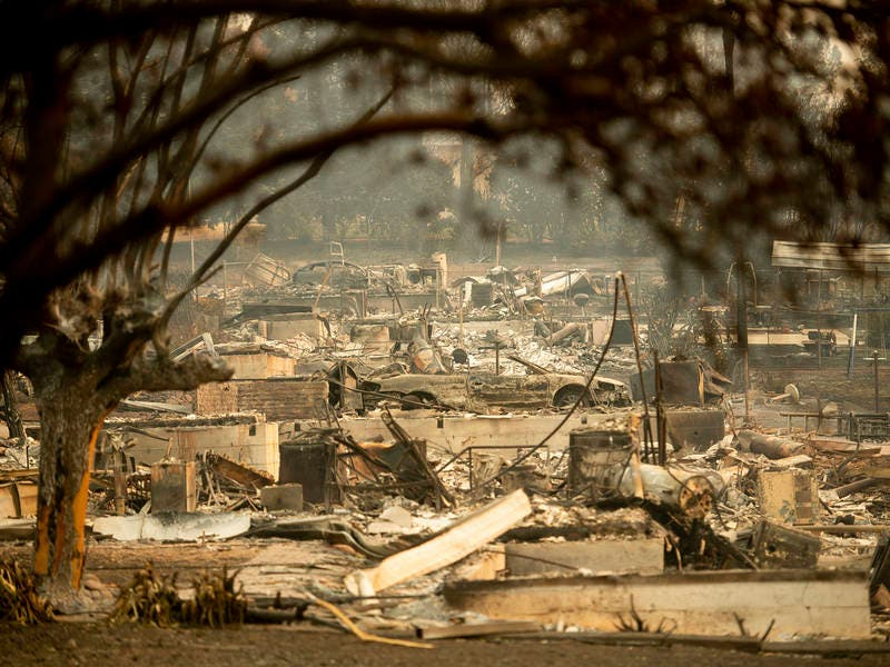 56 Dead In Camp Fire In Butte County, Toll Expected To Rise | Chico