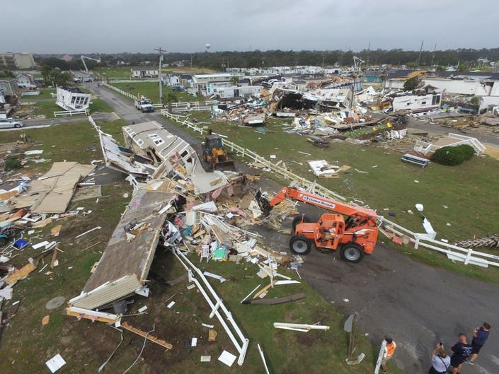 Hurricane Dorian Emerald Isle: Ring Camera Shows Tornado