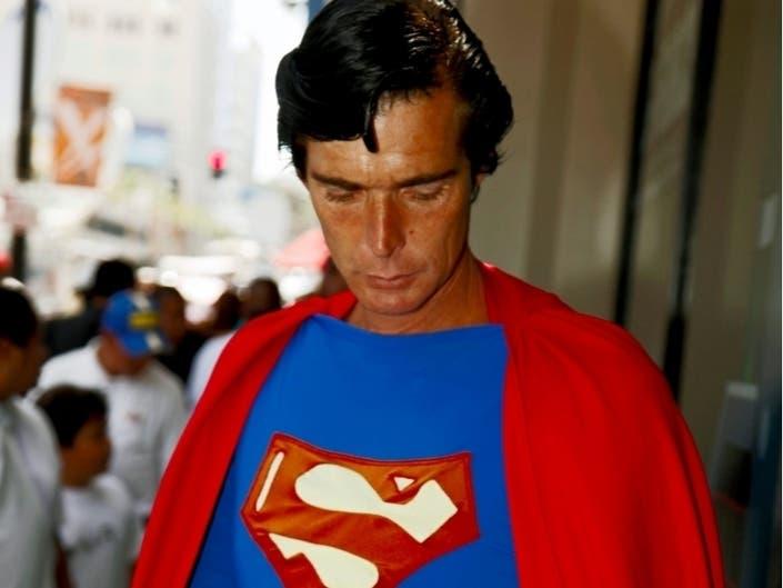 Famed Hollywood Blvd. Superman Found Dead In Valley Donation Bin