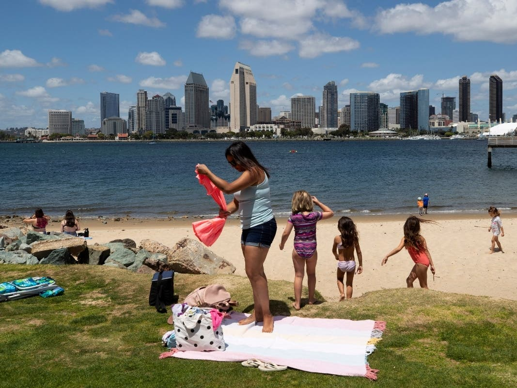 Massive San Diego Beach Crowds Prompt Urgent State Warning