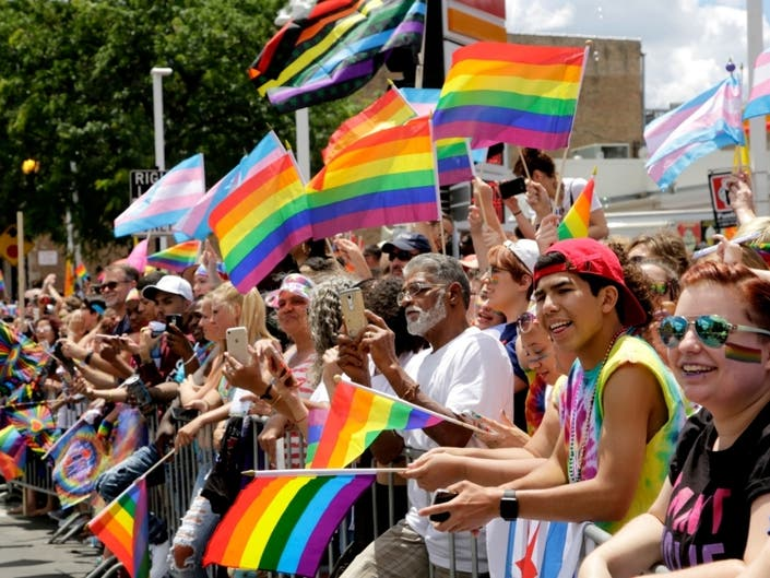 Chicago's 50th annual Pride Parade is planned Sunday, June 30, culminating weeks of festivities.