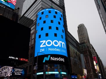 Zoom has said it's seeing more business for people wanting to meet online throughout the pandemic.