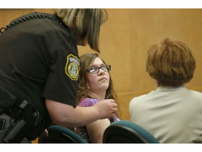 Teen Who Stabbed Classmate 19 Times To Impress Slender Man Takes Plea