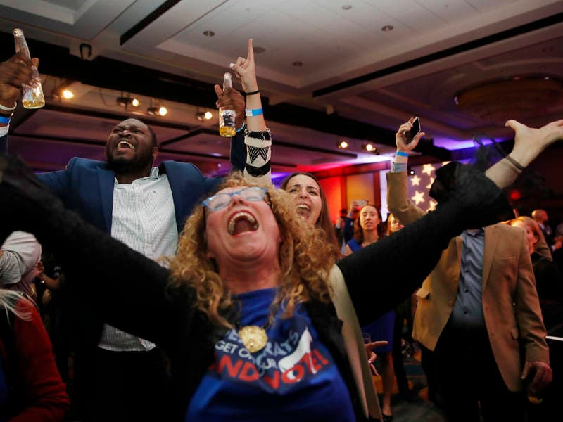 Image result for Dems celebrate House wins images