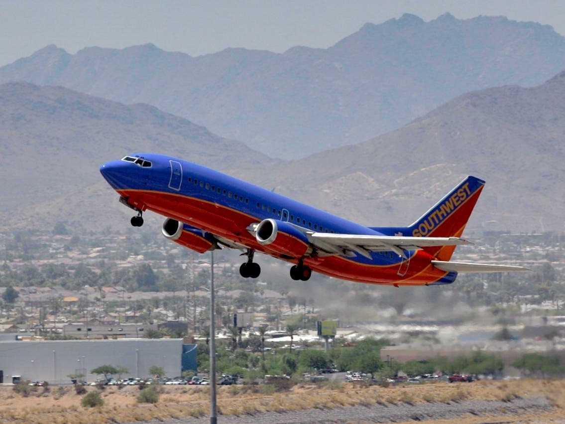 Southwest Airlines Offers Cheap Flights From Tucson