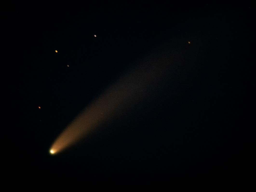 Comet Neowise: How To See The Brightest Comet In 23 Years | Across