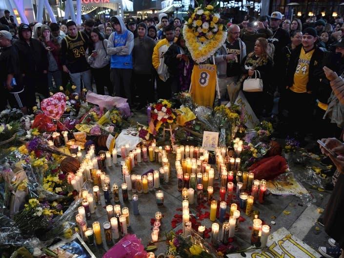Iconic M Lights Up For Kobe Bryant, Crash Victims: Inland Empire