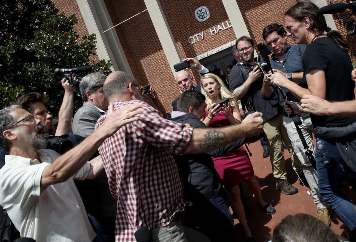 Jason Kessler, 'Unite The Right' Rally Organizer, Chased