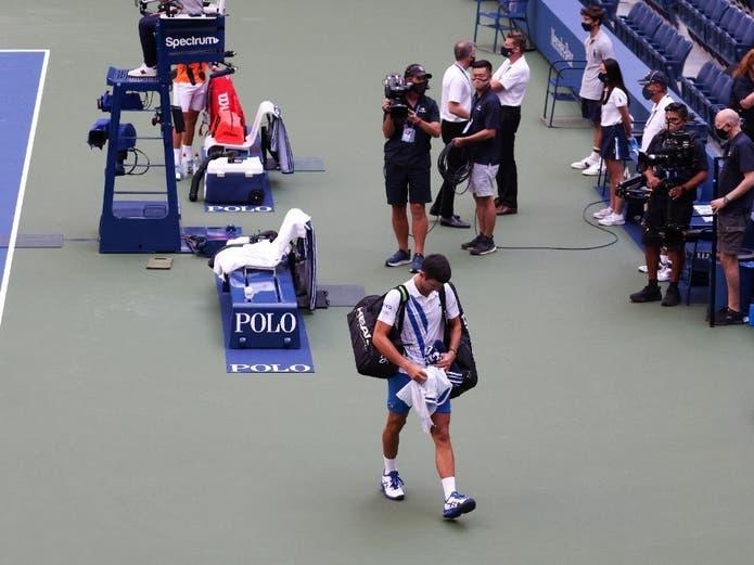 Tennis Star Novak Djokovic Disqualified From U S Open Flushing Ny Patch