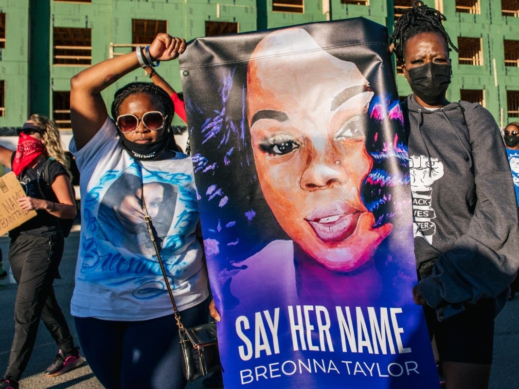 Police Officers Not Directly Charged In Death Of Breonna Taylor Across America Us Patch