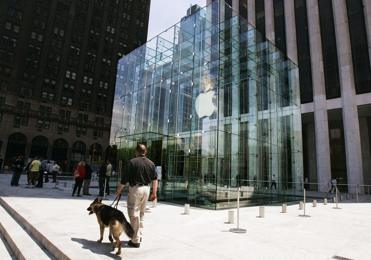 Say Goodbye To Fifth Avenue Apple Store's Glass Cube, For