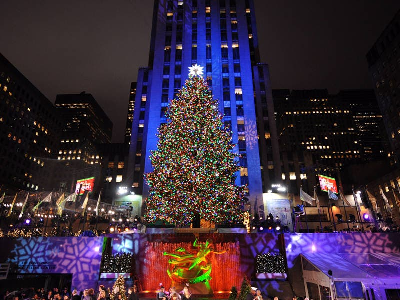 Rockefeller Center Selects Christmas Tree | Midtown Manhattan, NY Patch