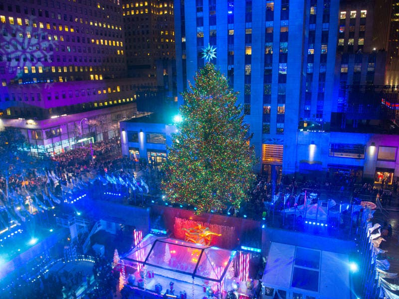 rockefeller center tree lighting 2017 ceremony how to watch