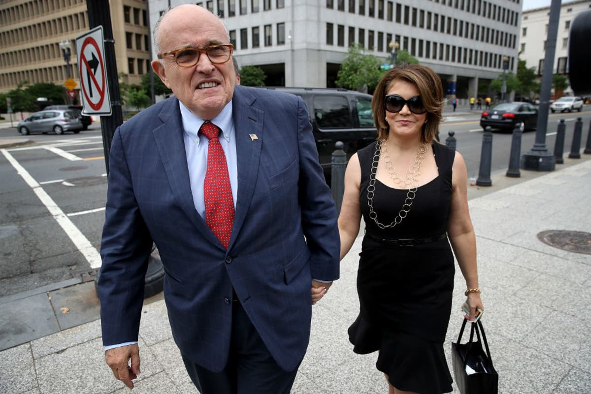 Rudy Giuliani Reveals New Girlfriend Amid Alleged Affair Report New York City Ny Patch