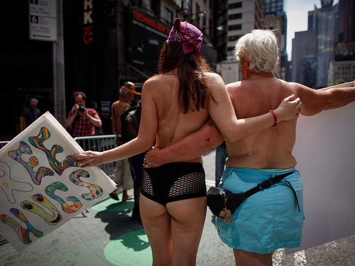 Go Topless Day NYC 2019: Parade Route, Street Closures