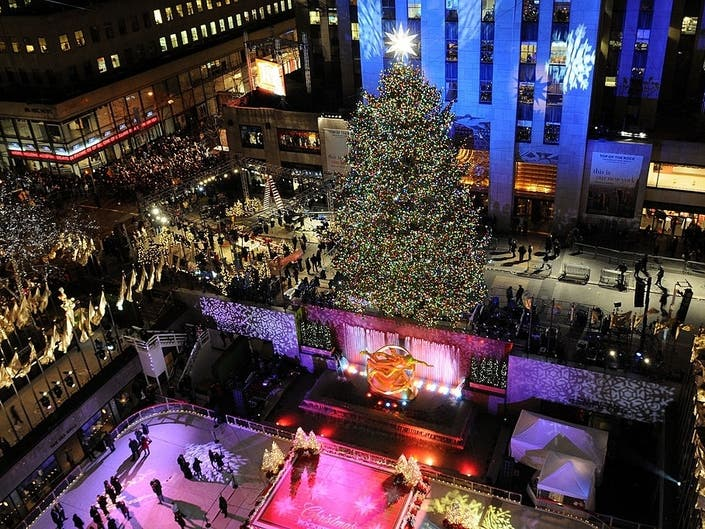 Rockefeller Center Tree Lighting Guide: Broadcast, Performers   Midtown, NY Patch