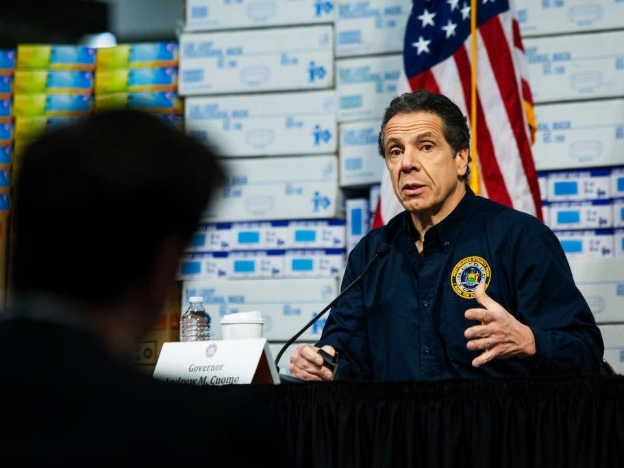New York Shutdown Extended 2 Weeks, Cuomo Says