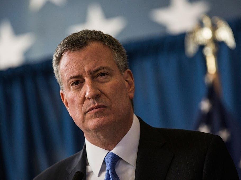NYC Mayor de Blasio Defends City's Response To Coronavirus