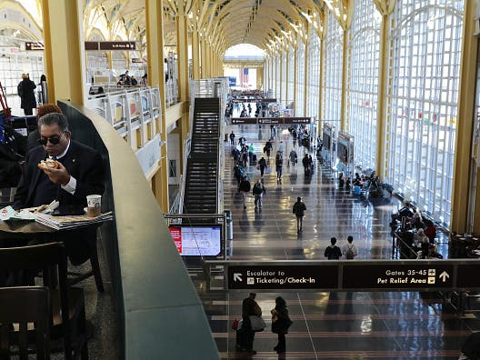 Reagan Airport Fares Poorly On Nationwide Satisfaction Rankings