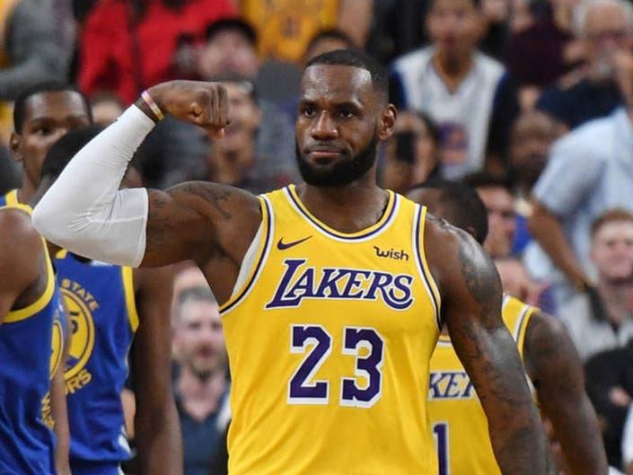 a68afae57ac4 Lakers Hope To Break Trail Blazers Curse In Season Opener