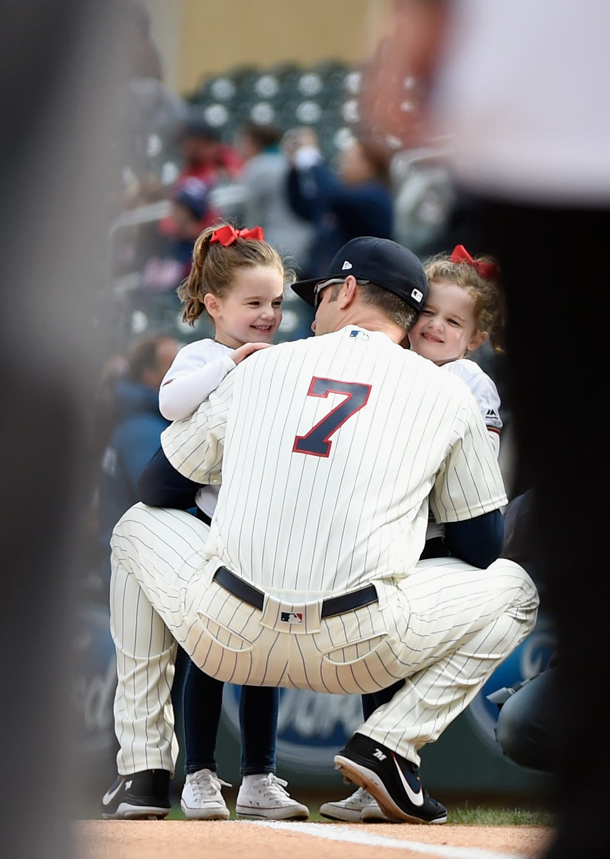 Joe mauer family photo