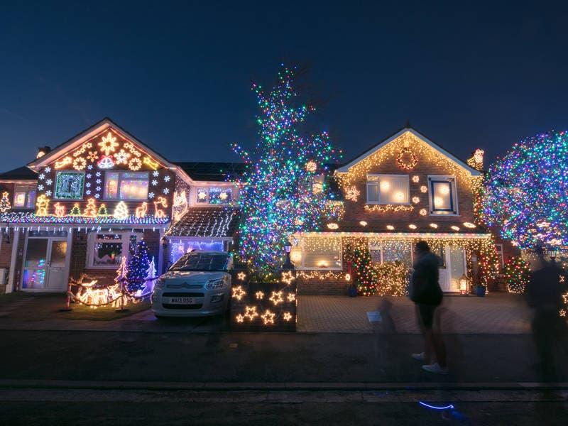 Best Christmas Light Displays Near Parsippany