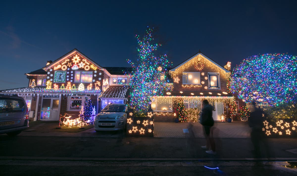 Best Christmas Lights Near Me.Best Christmas Light Displays Near Edison Metuchen Edison