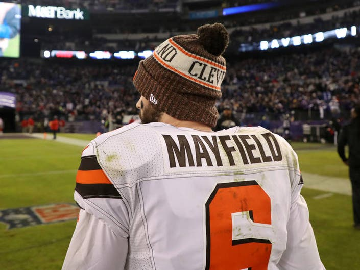900e293c9ca Baker Mayfield Loses Rookie Of The Year Award