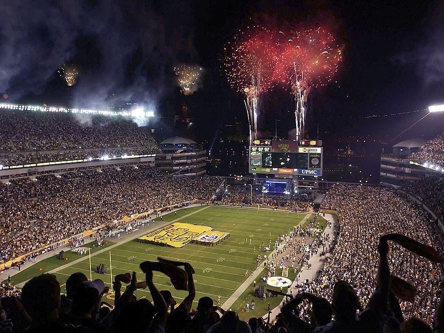 Heinz Field Among NFL'S Best Stadiums: ESPN
