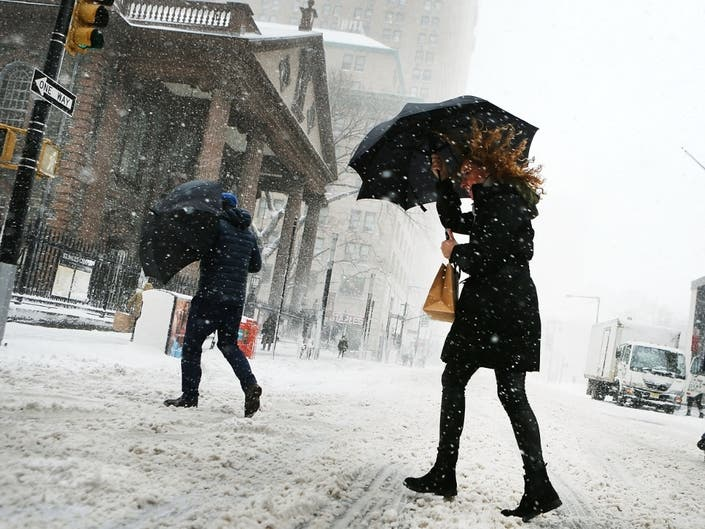 NYC Weather: Snow Advisory In Effect As Storm Nears