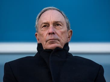 Michael Bloomberg's wealth increased by $11 billion in the past year, Forbes found.