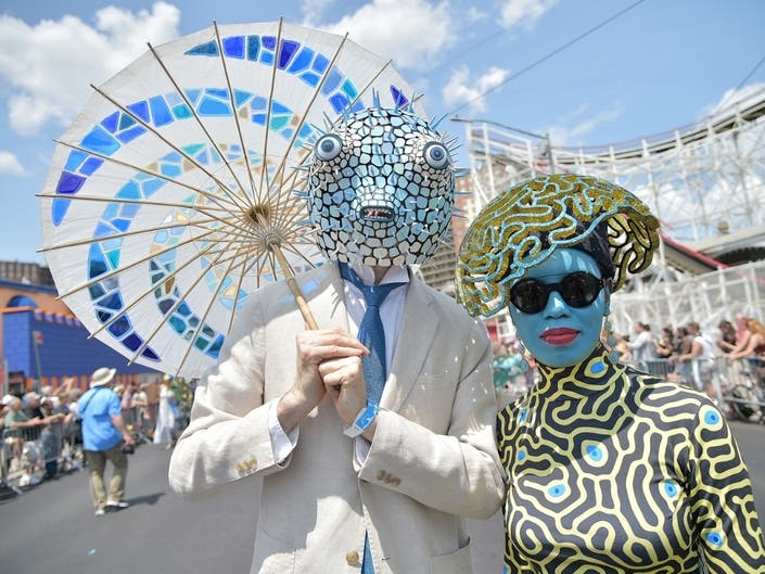 Photos: Mermaid Parade Brings NYCs Finniest To Coney Island
